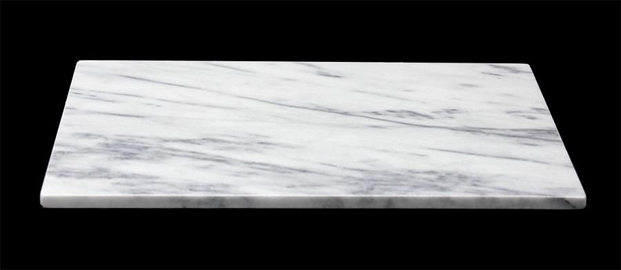 blackapple marmorplatte weisser marmor. Black Bedroom Furniture Sets. Home Design Ideas