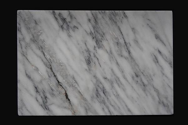 Marmorplatte weiss